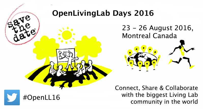 OpenLivingLab Days 2016 save the date